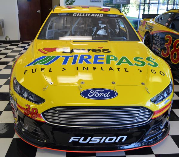 Love's Ford Fusion with Tirepass