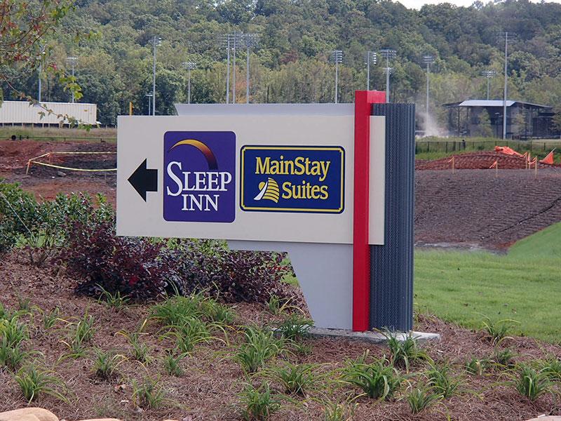 Sleep Inn Emerson Georgia sign