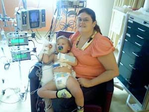 Brayden at CMN Hospital