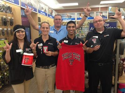 Love's crew with guns up for Tech