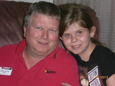 Love's larry clifton and daughter