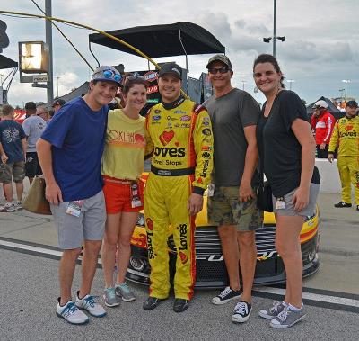 fans with David Gilliland