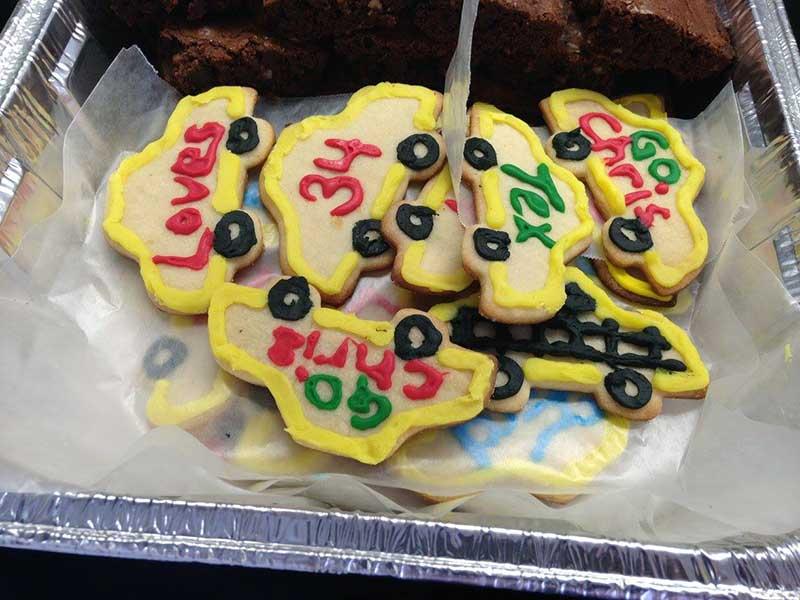 Chris Buescher cookies