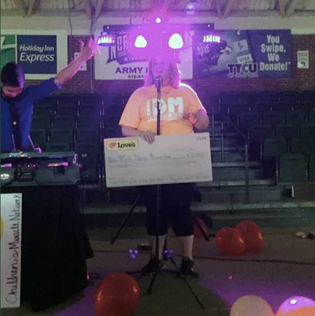 Dance Marathon at NSU in Oklahoma