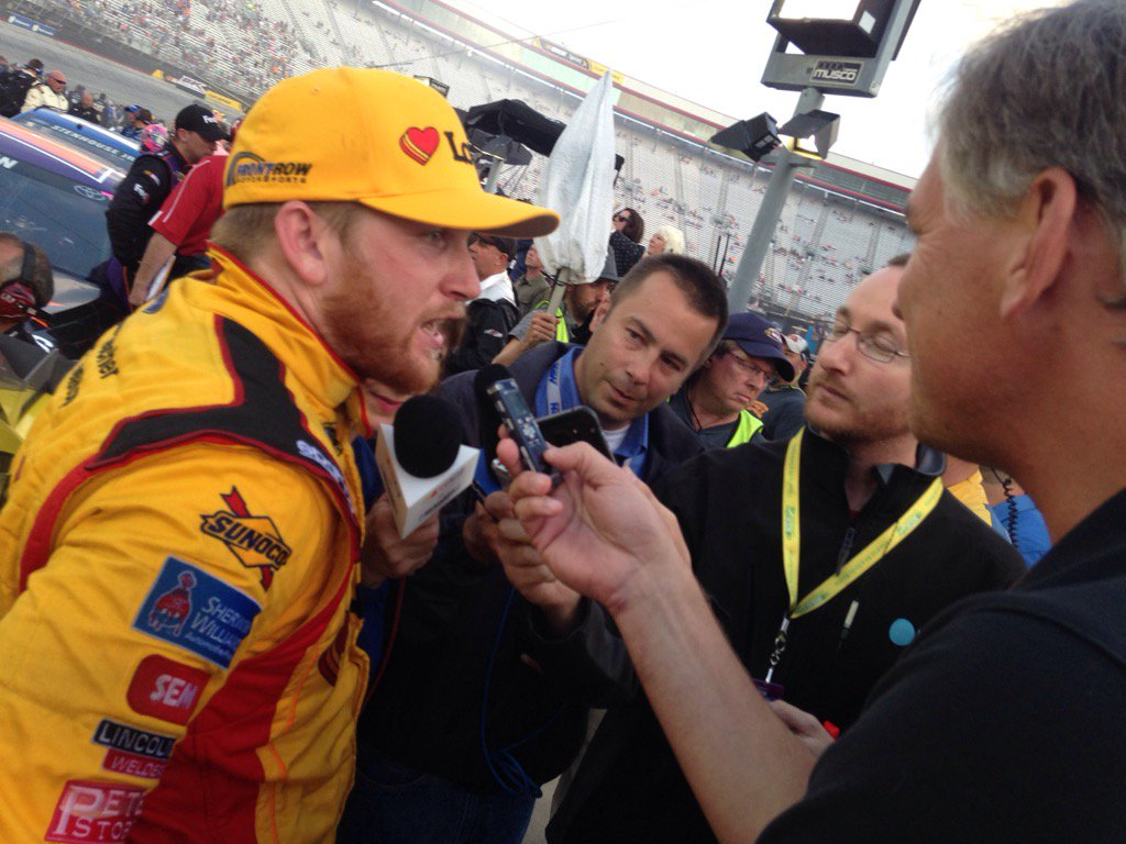 Chris Buescher Top 5 at Bristol