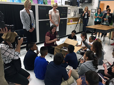 Love's donates money to The Foundation for OKCPS