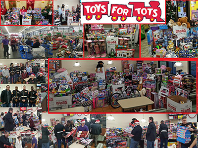 toys for tots at loves travel stops