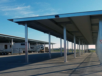RV parking in Sweetwater Texas
