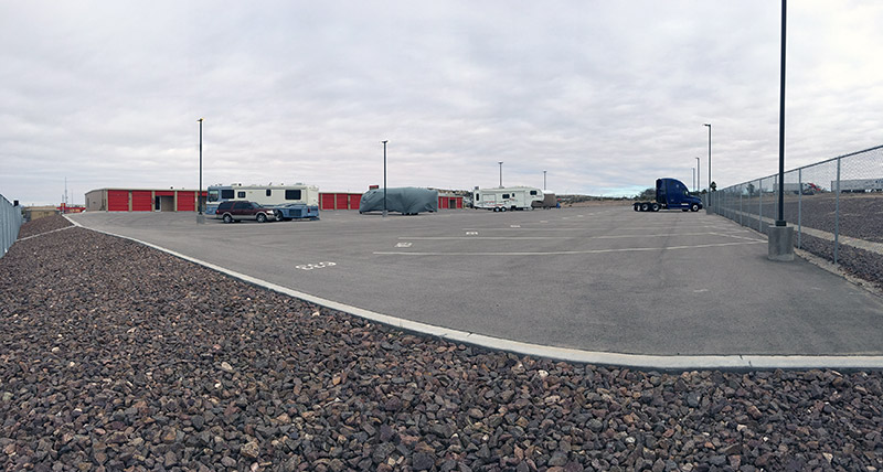 RV parking in El Paso