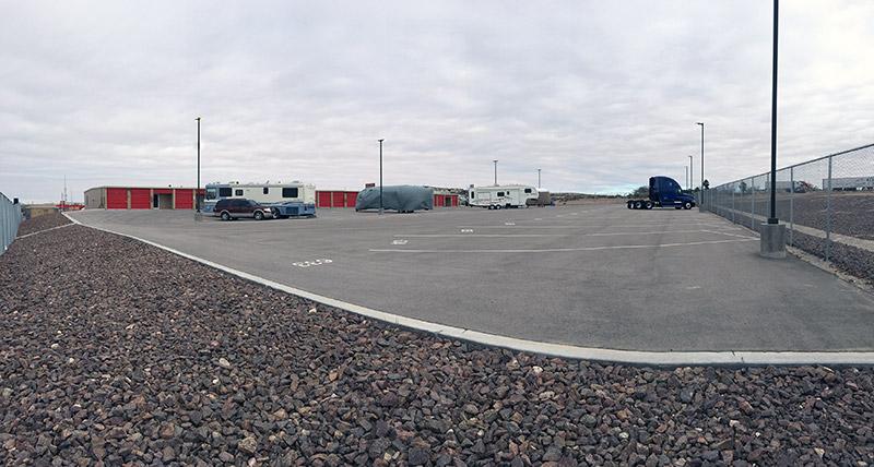 RV parking in El Paso