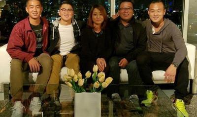 Sean Kim family