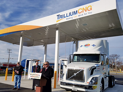trillium cng ribbon cutting maryland