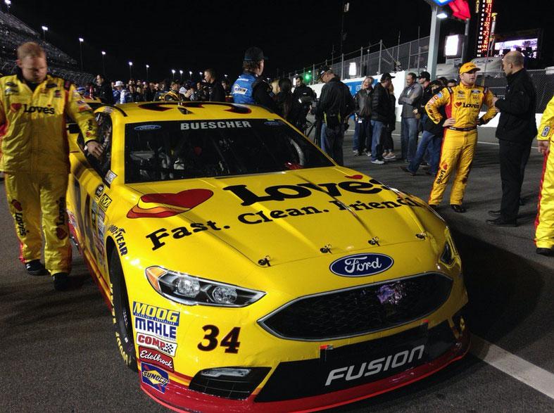 Chris Buescher in Daytona