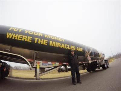 loves tanker supporting CMN hospitals