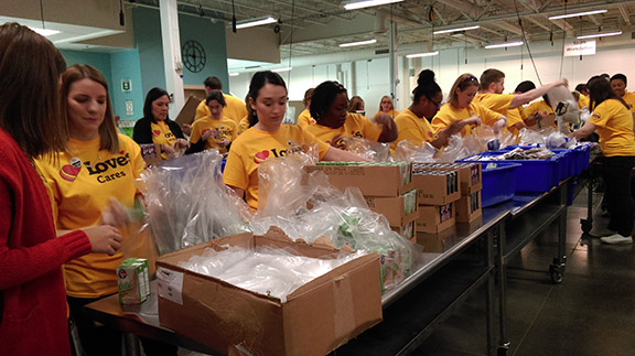 Regional Food Bank Share the Love