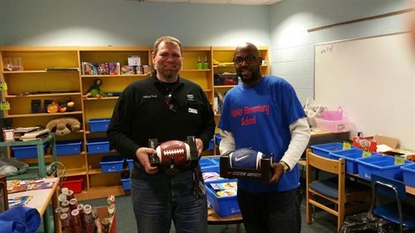 Nashville Fuel Haulers Donate to School