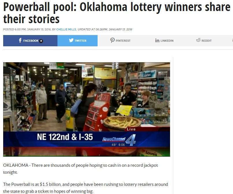 Oklahoma lottery winners share stories