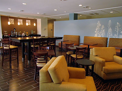 Cumberland Maryland hotel dining area