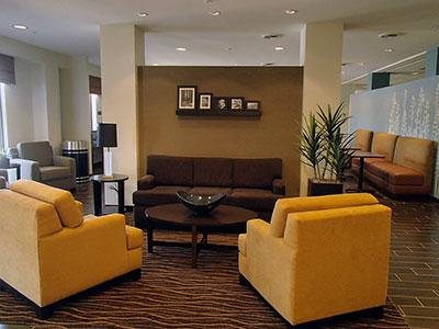 Cumberland Maryland hotel lobby