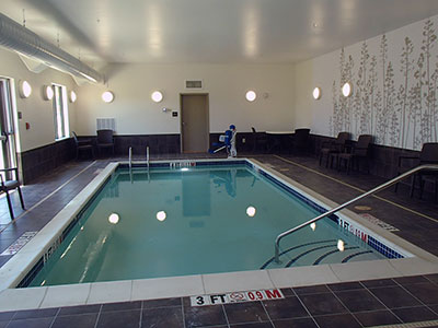 Cumberland Maryland hotel swimming pool