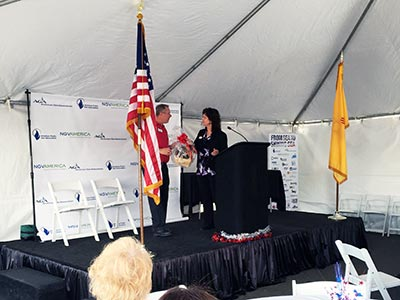 CNG Sea To Shining Sea event in Albuquerque