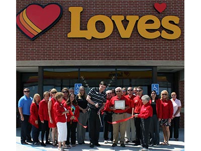 Sidney Nebraska Love's store opens