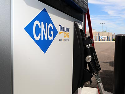 Trillium CNG ribbon cutting at Holiday in Minnesota