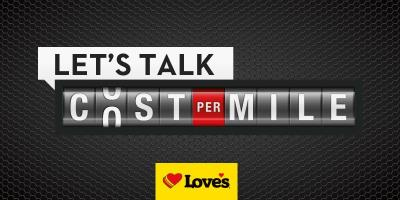 love's lowers drivers' cost per mile