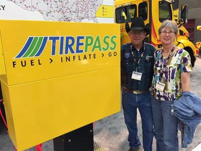 Love's customer raves about TirePass at MATS