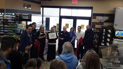 Love's scott city ribbon cutting