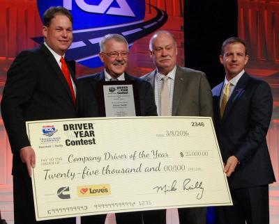 TCA Company Driver of the Year Danny Smith
