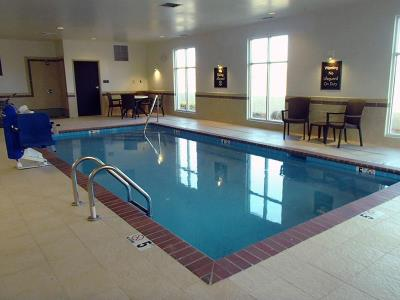 Pool at Sleep Inn in Jasper