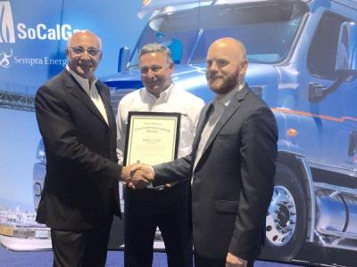 Trillium CNG honored by SoCalGas