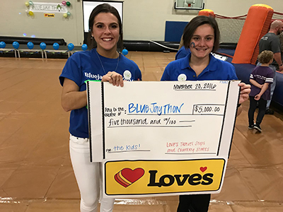 bluejay THON team members