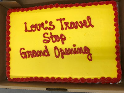 loves travel stop cake
