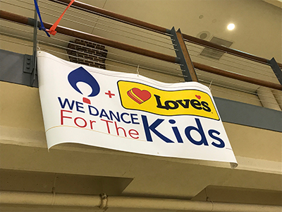 smu dance marathon sponsored by Love's