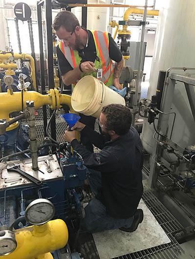 trillium rebuilds compressors