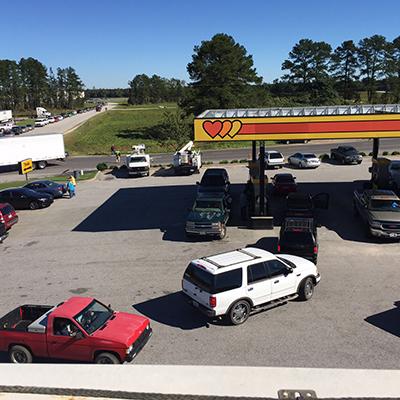 line for gas south carolina