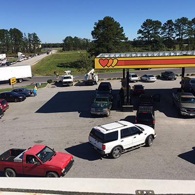 line for gas south carolina
