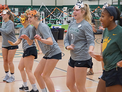 baylor student athletes dance marathon