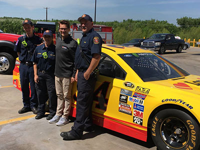 rhome fire department with landon cassill
