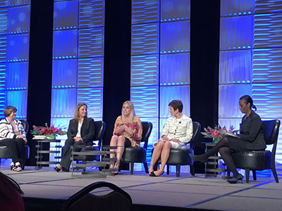 okc panel at women in leadership conference
