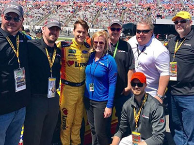loves employees with landon cassill