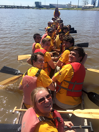 loves interns race dragon boats