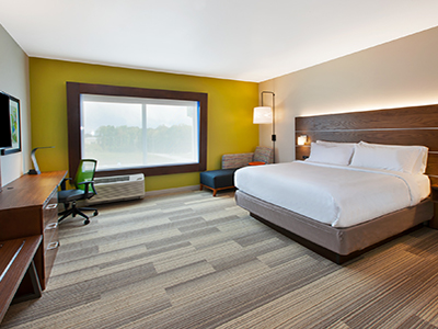 holiday inn express king suite