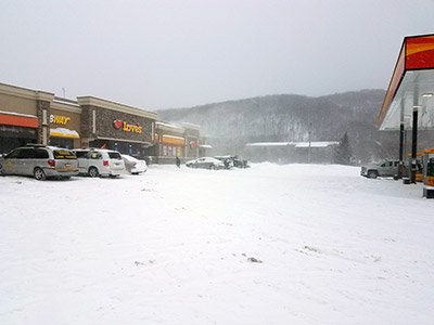 Canaan New York snow storm