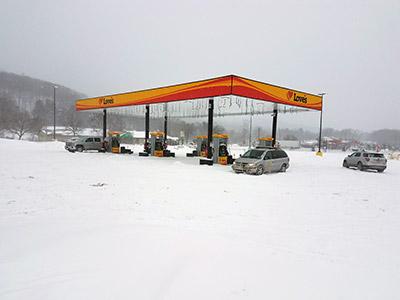 Canaan New York snow storm