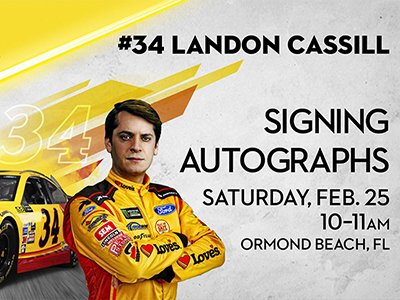 landon cassill at ormond beach loves Feb 25