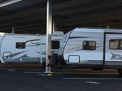 RV and boat storage in Las Vegas