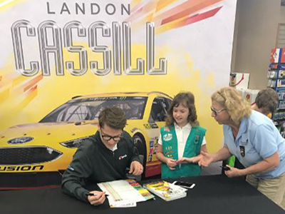 cassill buy girl scout cookies at Love's